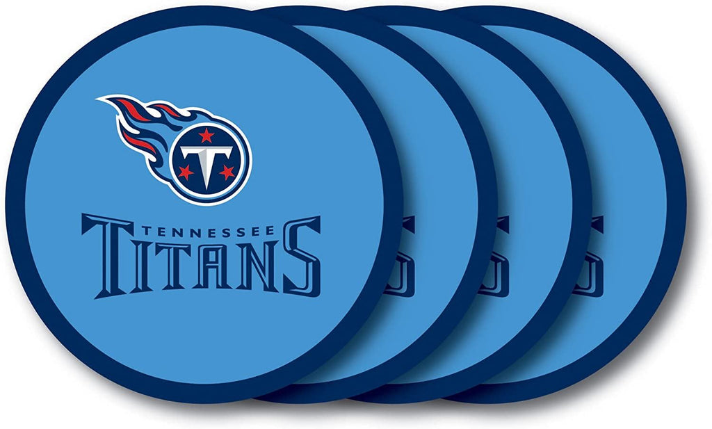 Duck House NFL Tennessee Titans Coaster Set 4-Pack