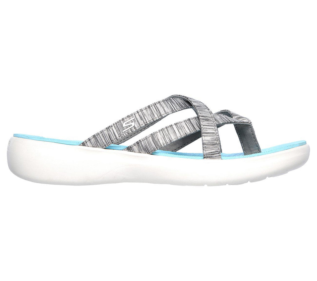 3d1645335fdf4 Skechers Performance Women's On The GO 600 Luxe-Luvly Slide Sandal ...