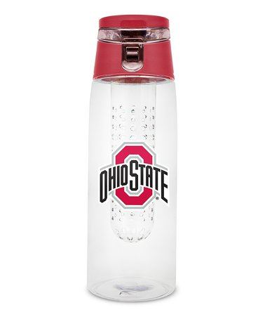 Duck House NCAA Ohio State Buckeyes Infuser Clear Bottle 20 oz