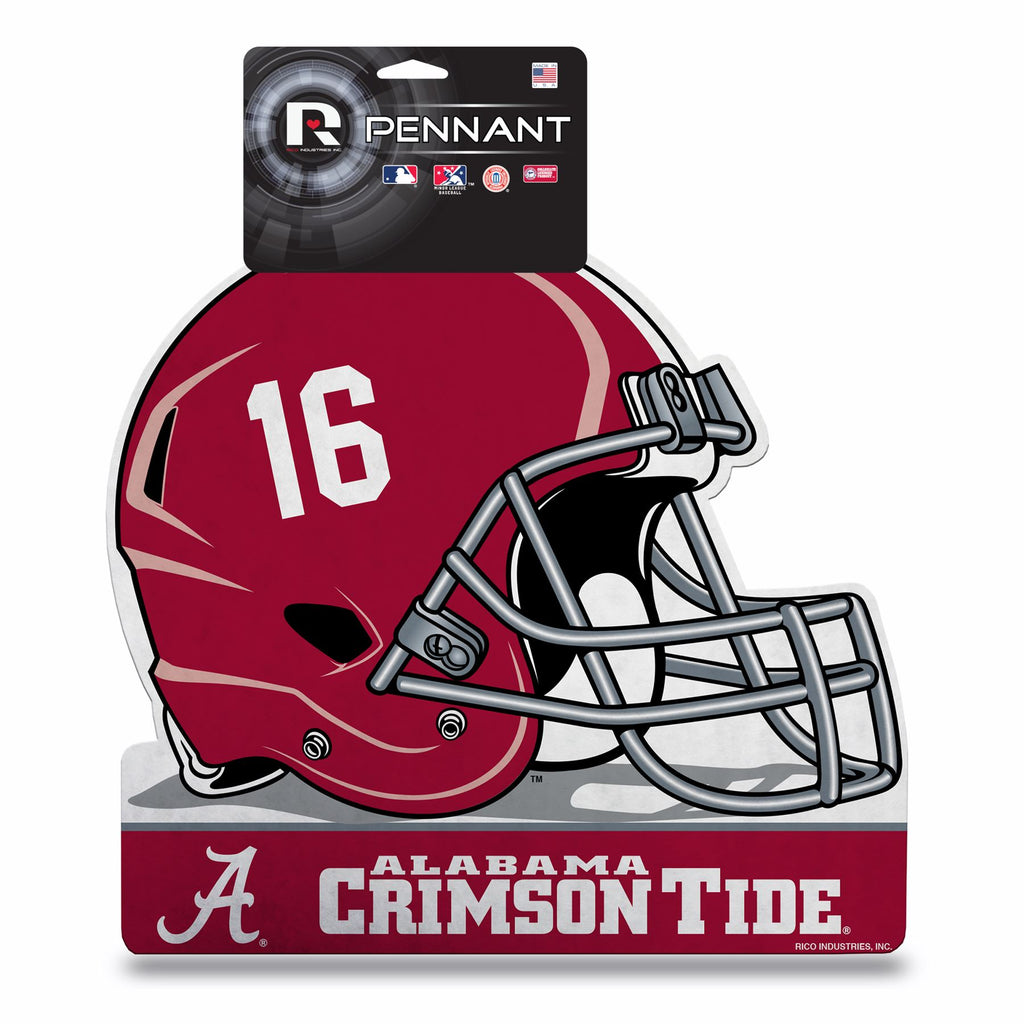 Rico NCAA Alabama Crimson Tide Die-Cut Helmet Pennant