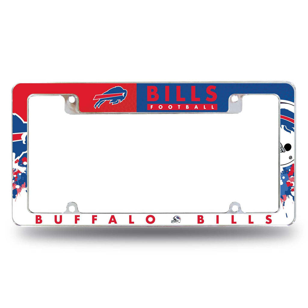 Rico NFL Buffalo Bills Auto Tag All Over Chrome Frame AFC