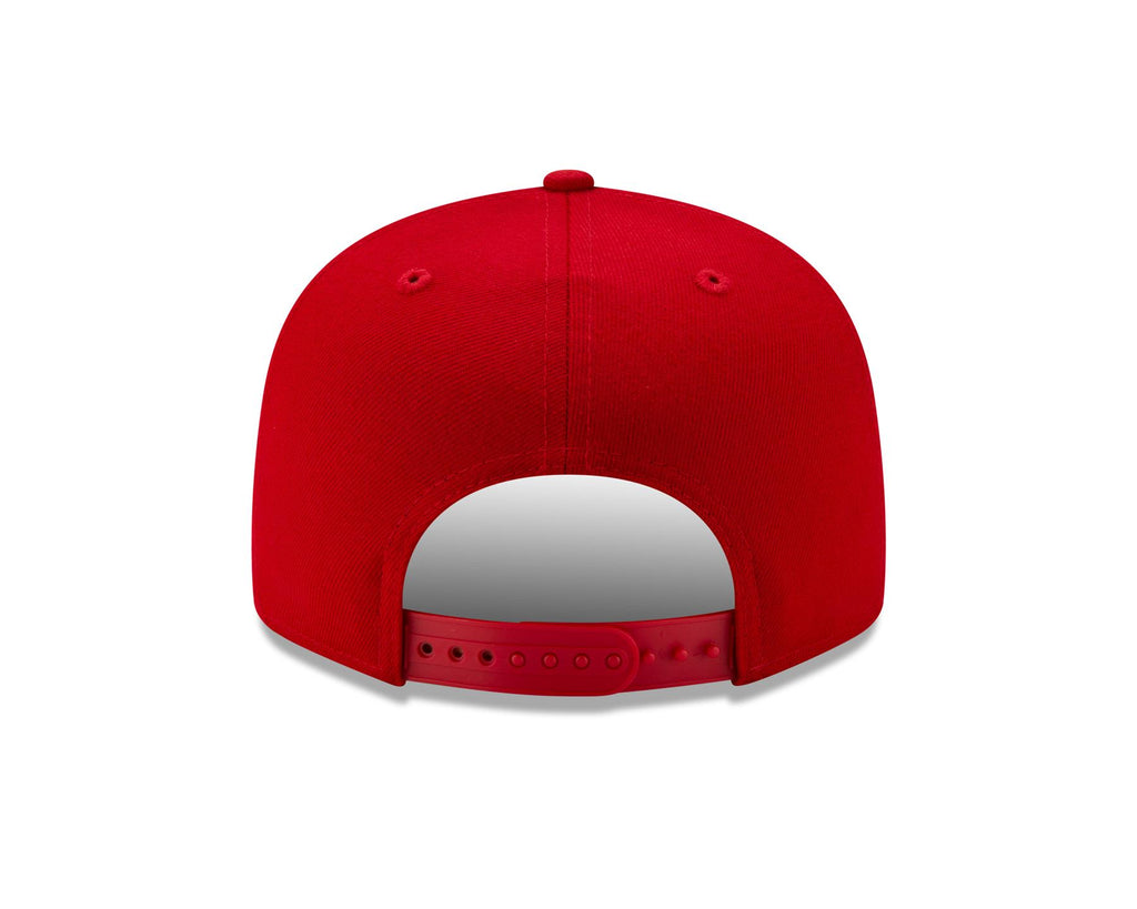New Era NFL Men's San Francisco 49ers MNT State 9FIFTY Adjustable Snapback Hat Red OSFA