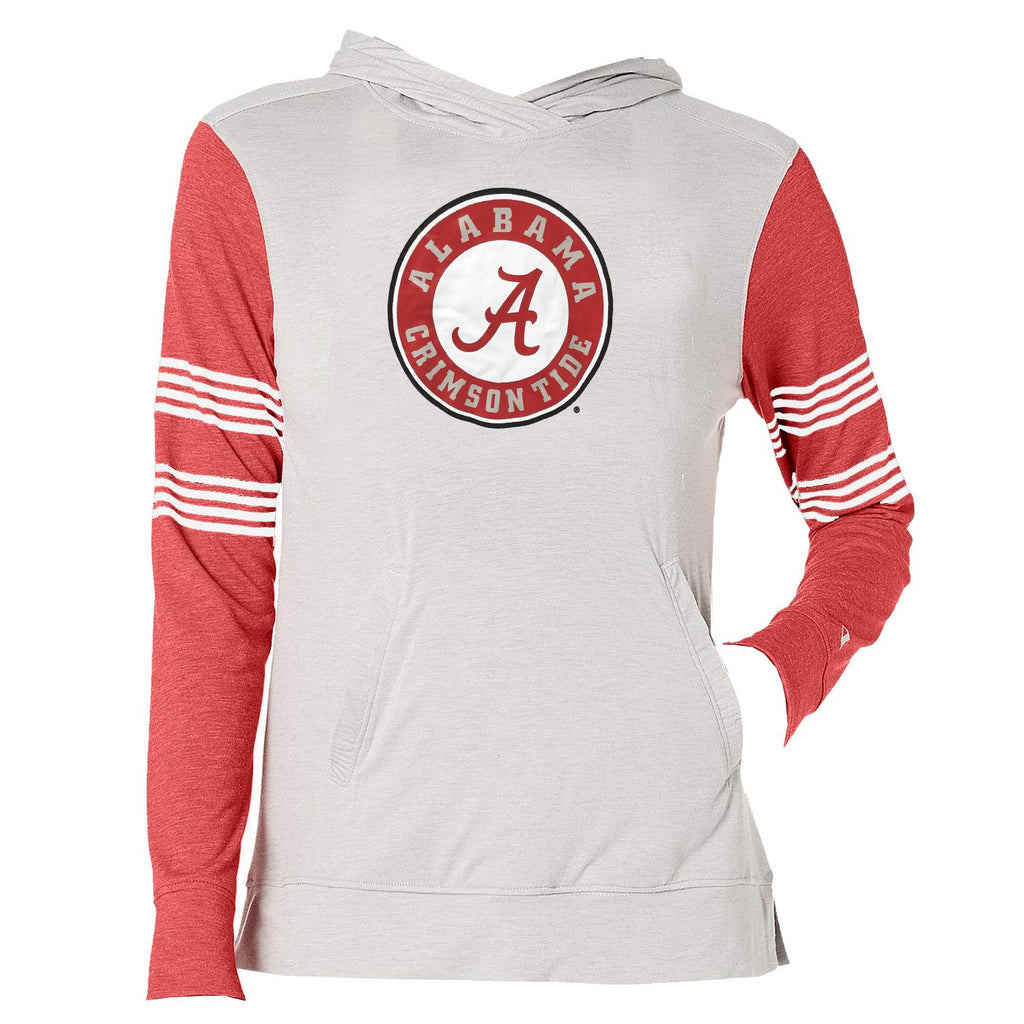 Champion NCAA Women's Alabama Crimson Tide Gym Issue Lightweight Long Sleeve Hoodie