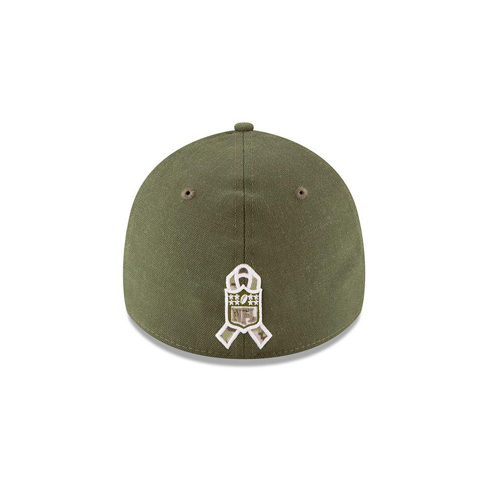 low priced c16c7 fc7d6 New Era NFL Tampa Bay Buccaneers 2018 Salute To Service Sideline 39THIRTY  Flex Hat ...