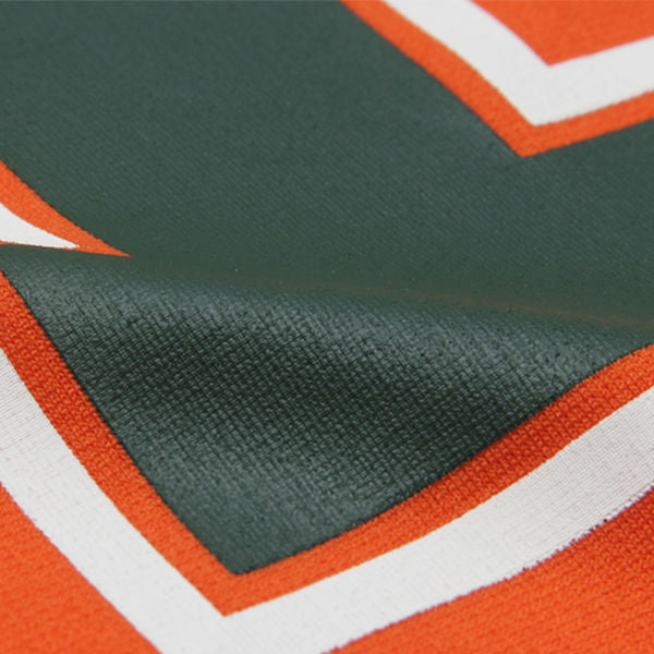 Colosseum NCAA Men's Miami Hurricanes Spike It Football Jersey