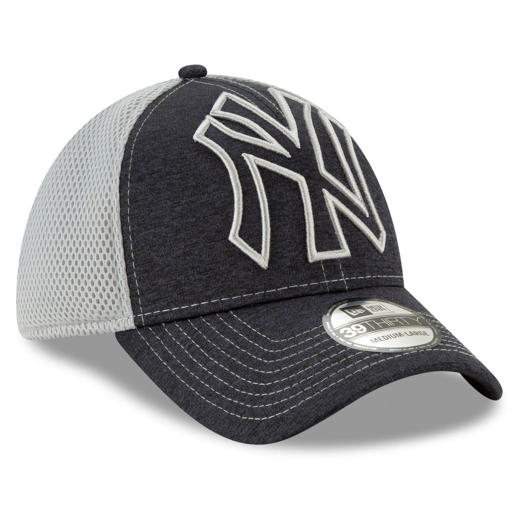 New Era MLB Men's New York Yankees Tonal Shade Neo 39THIRTY Flex Fit Hat