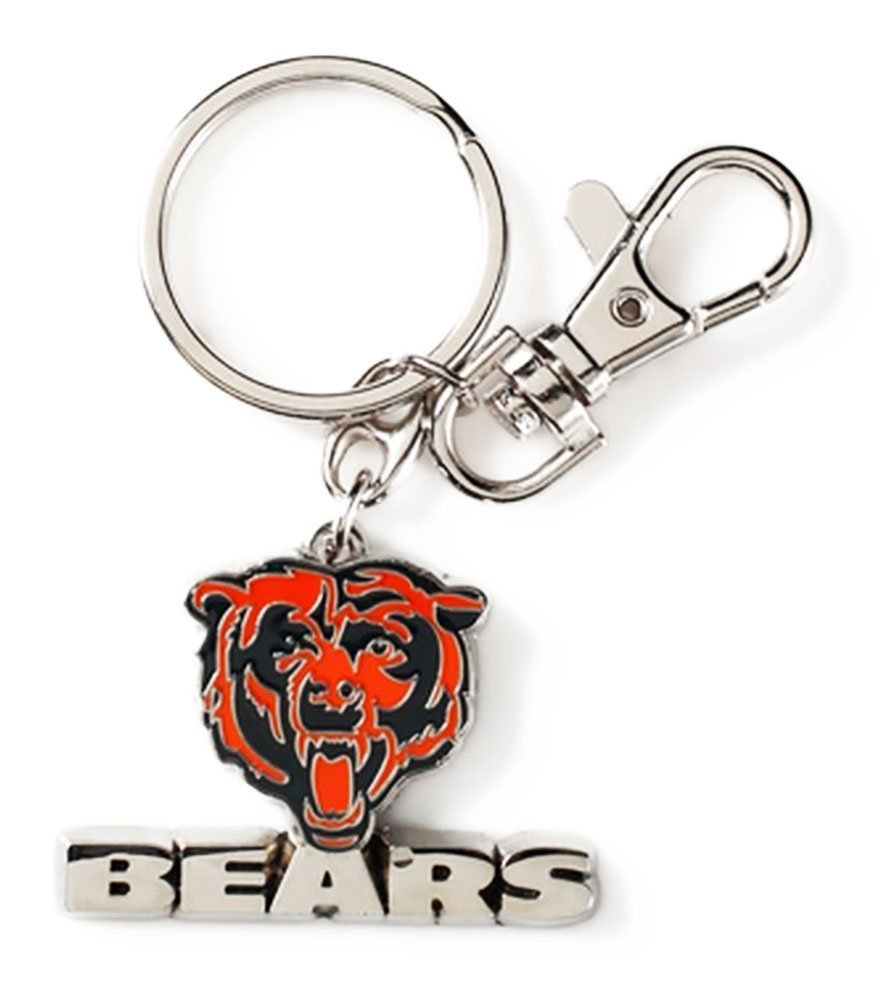 Aminco NFL Chicago Bears Heavyweight Keychain