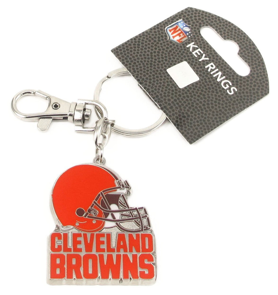Aminco NFL Cleveland Browns Heavyweight Keychain