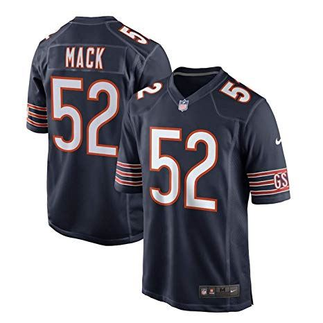 Outerstuff NFL Youth #52 Khalil Mack Chicago Bears Performance Fashion Jersey