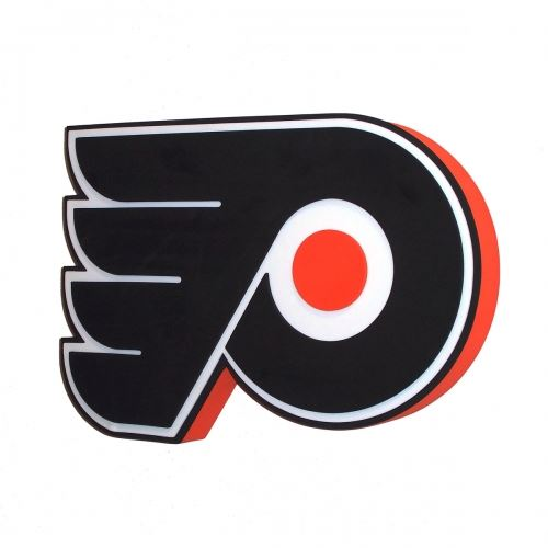 Foam Fanatics NHL Philadelphia Flyers 3D Foam Logo Sign with Strap