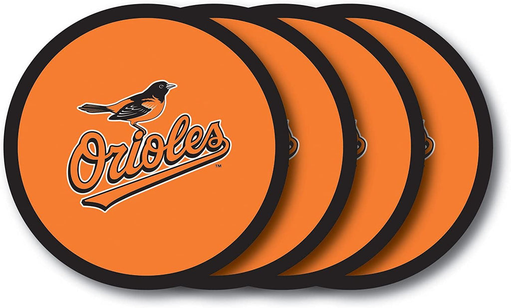 Duck House MLB Baltimore Orioles Coaster Set 4-Pack