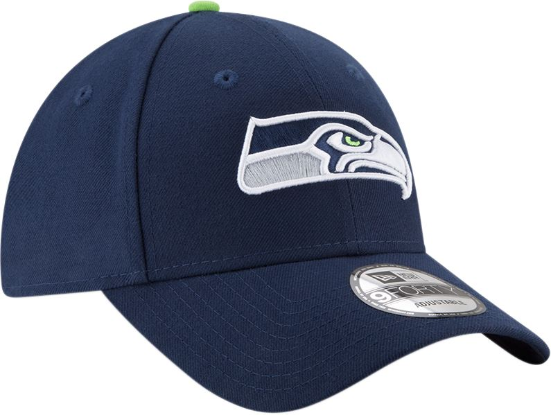 New Era NFL Seattle Seahawks The League 9Forty  Adjustable Cap OSFA Navy