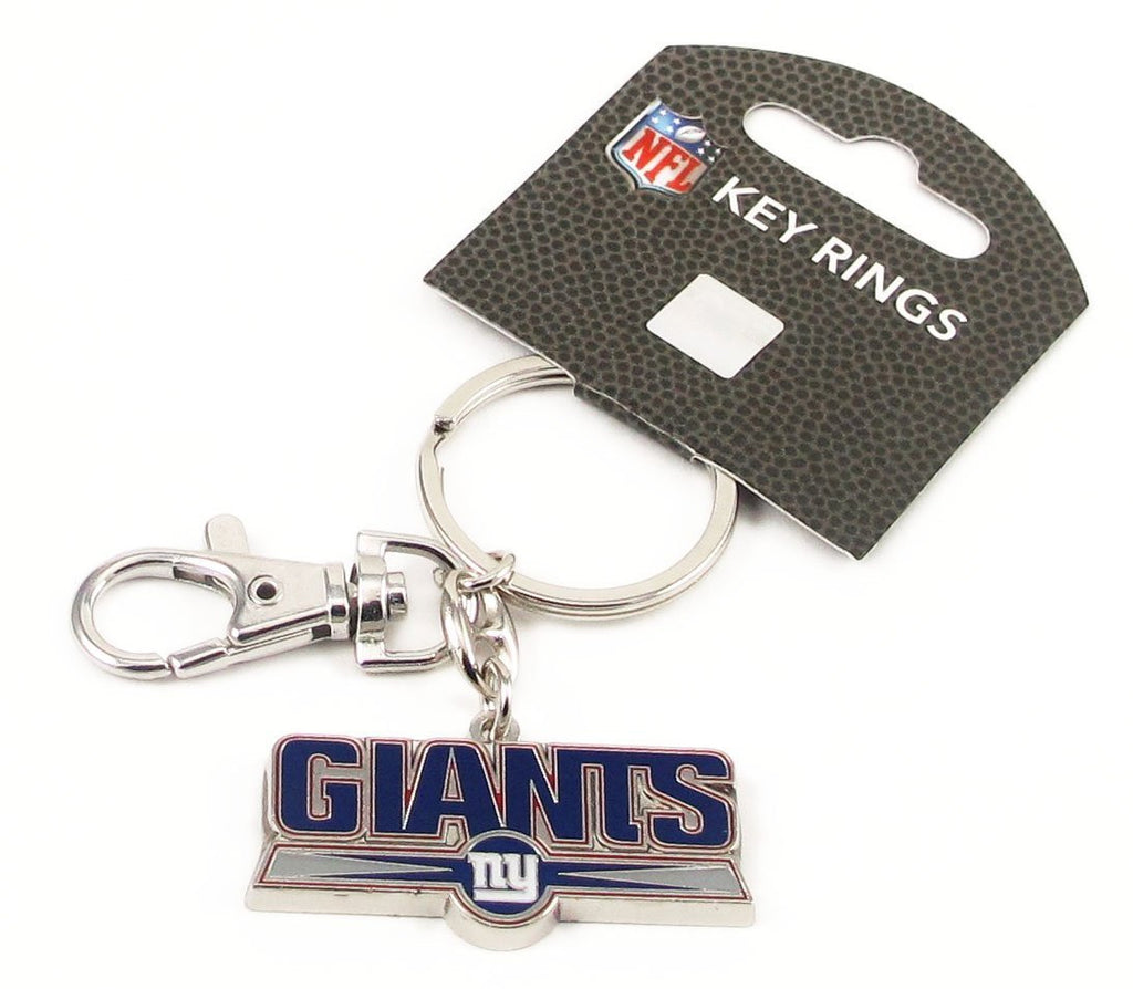 Aminco NFL New York Giants Heavyweight Keychain