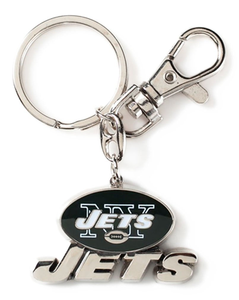 Aminco NFL New York Jets Heavyweight Keychain