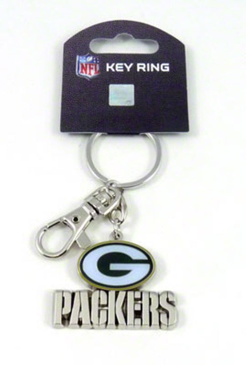 Aminco NFL Green Bay Packers Heavyweight Keychain