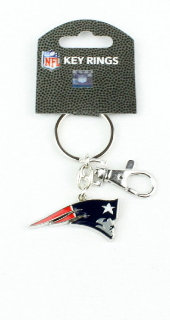 Aminco NFL New England Patriots Heavyweight Keychain