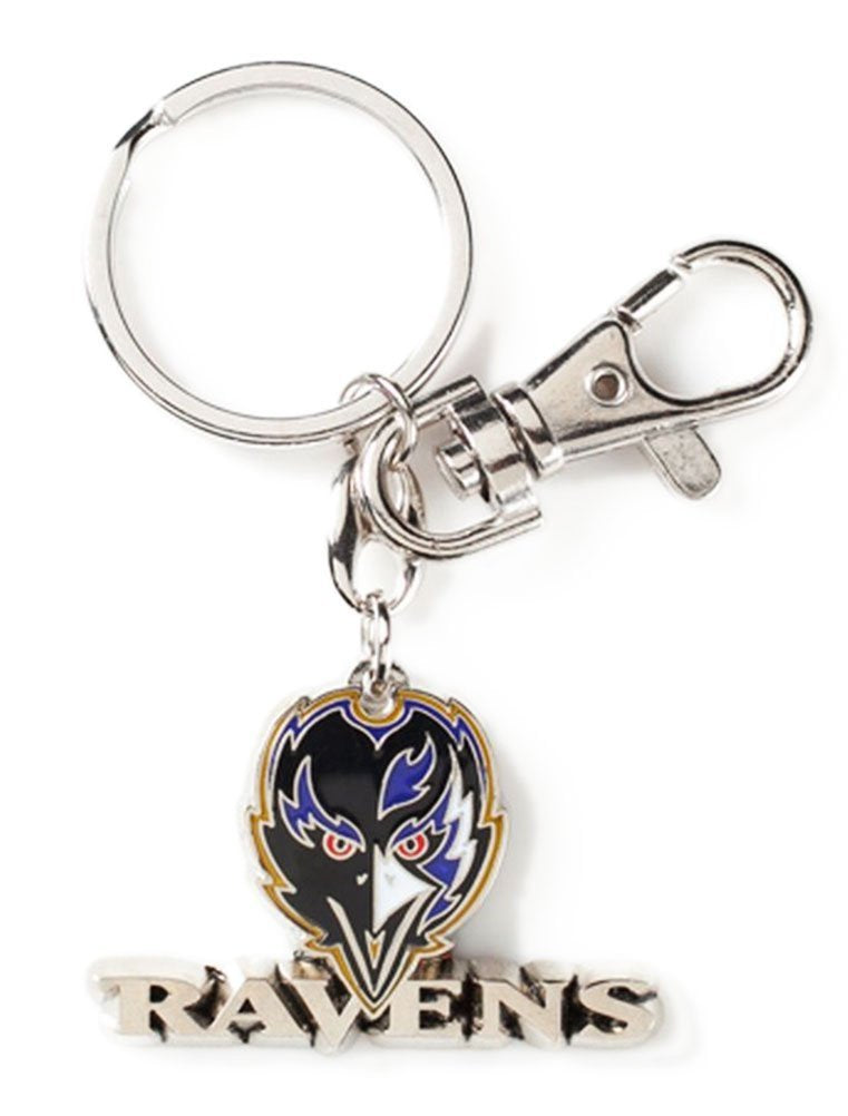 Aminco NFL Baltimore Ravens Heavyweight Keychain