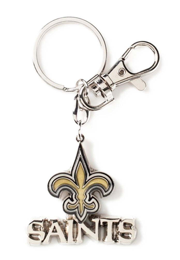 Aminco NFL New Orleans Saints Heavyweight Keychain