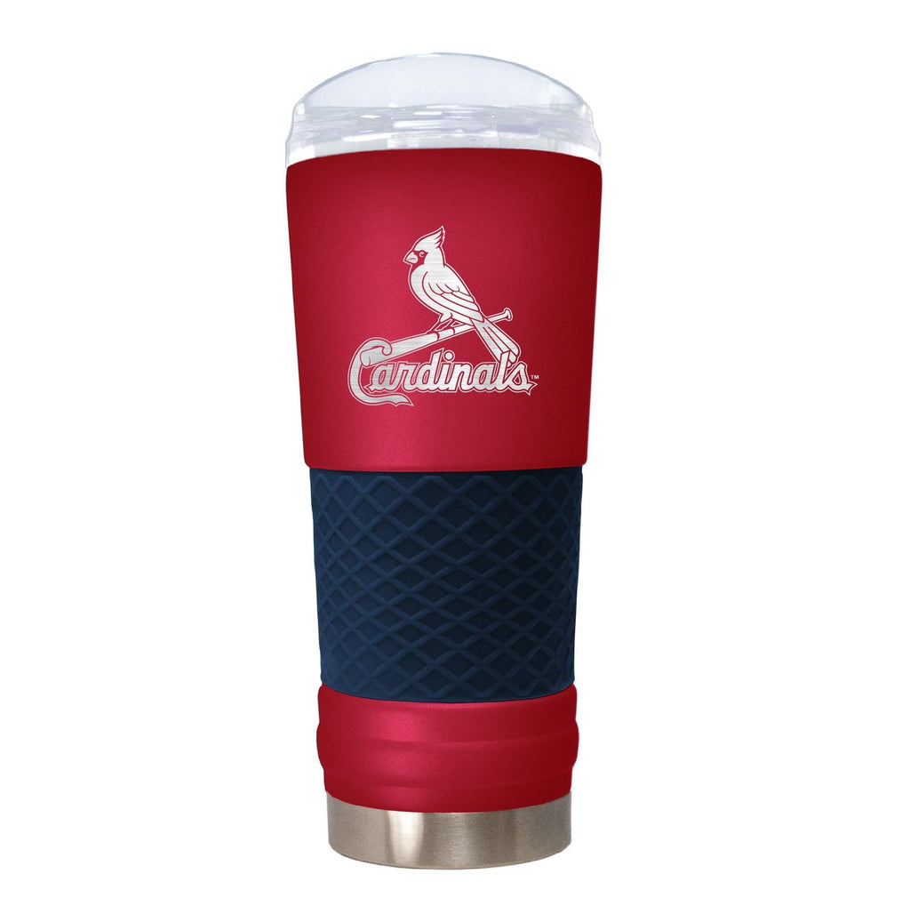 Great American Products MLB St. Louis Cardinals Powder Coated Draft Tumbler 24oz Red