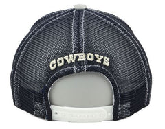 DCM NFL Women's Dallas Cowboys Helsinki Snapback Hat Grey Adjustable