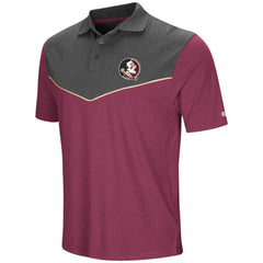 Colosseum NCAA Men's Florida State Seminoles Walter Polo