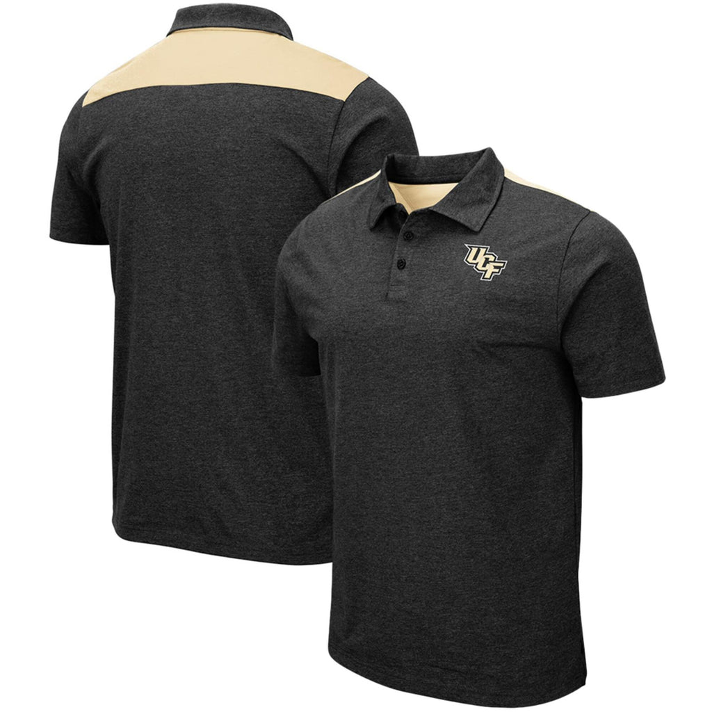 Colosseum NCAA Men's UCF Central Florida Knights I Will Not Polo Shirt