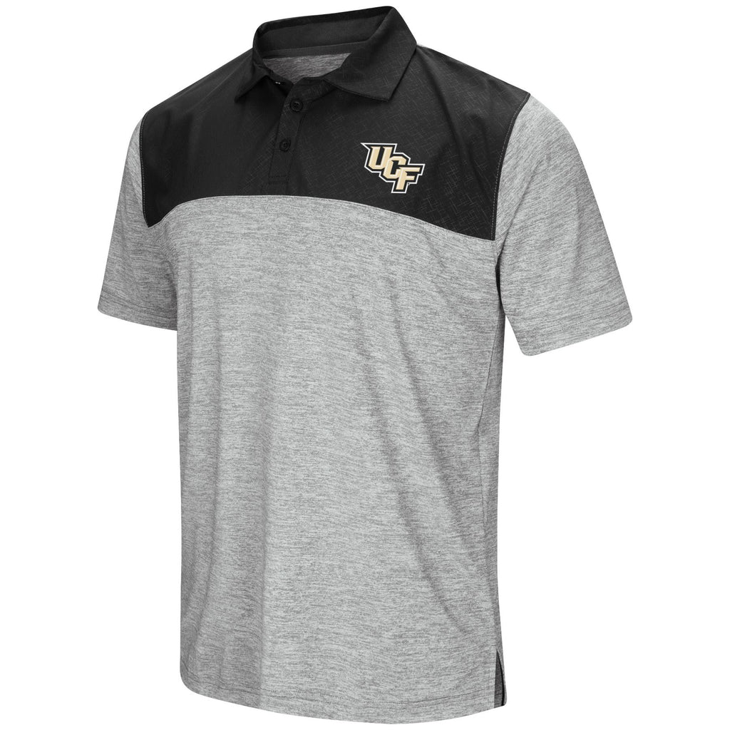 Colosseum NCAA Men's Central Florida Knights Alaska Woven Polo