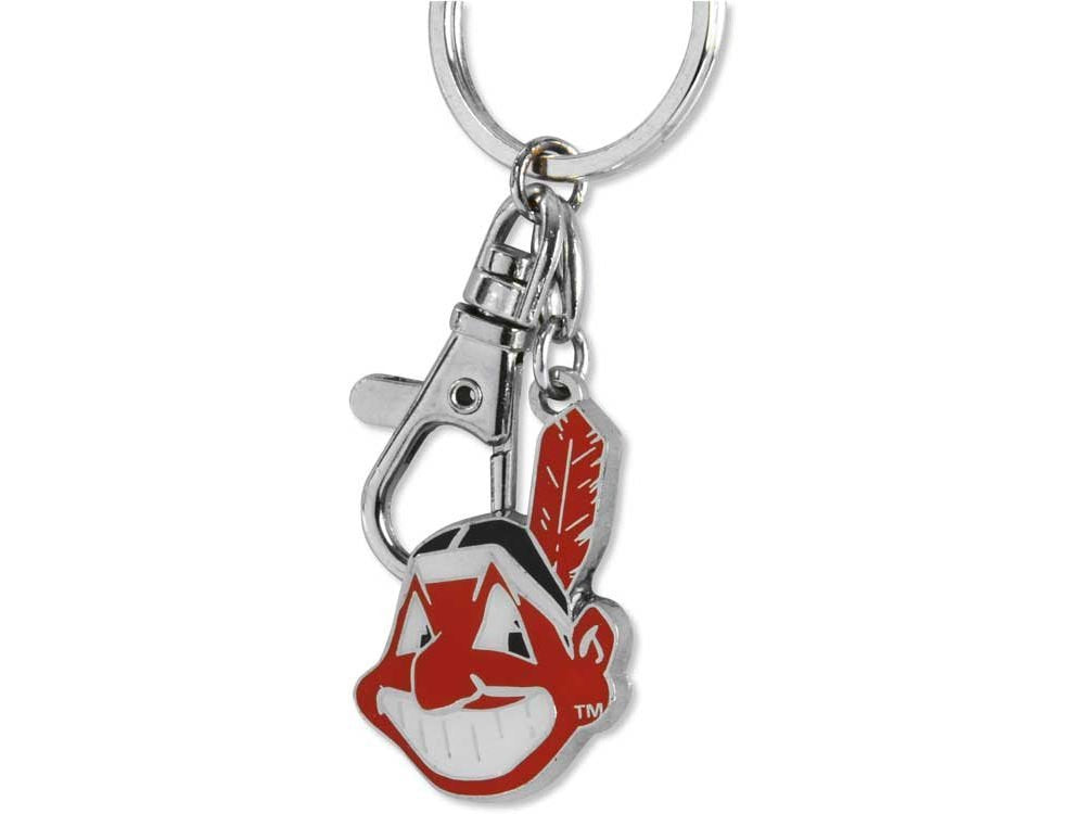 Aminco MLB Cleveland Indians Heavyweight Keychain