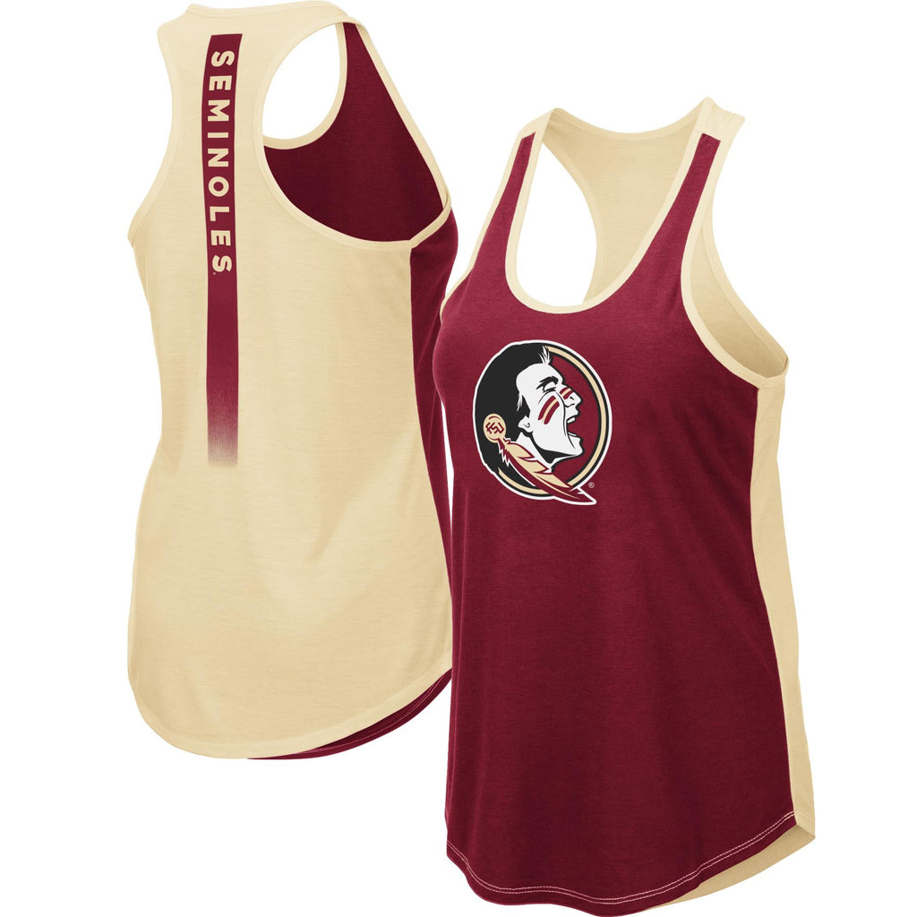 Colosseum NCAA Women's Florida State Seminoles (FSU) Publicist Tank Top