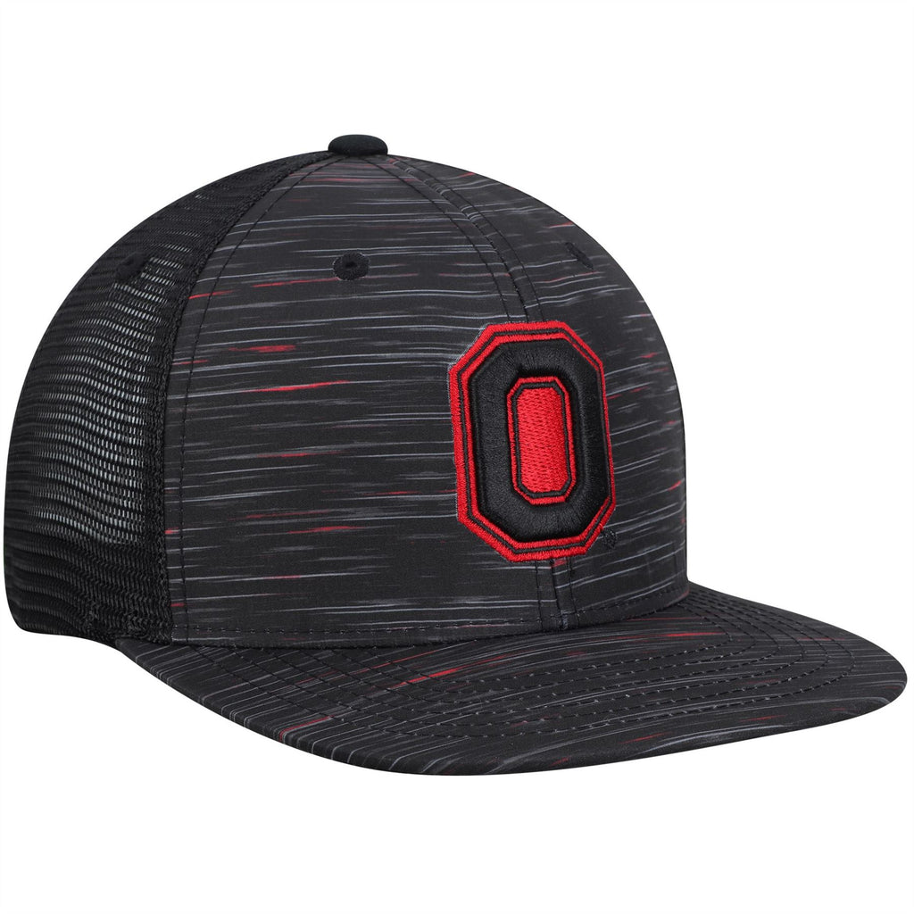 size 40 e22b4 1fae5 Top Of The World NCAA Men s Ohio State Buckeyes Frantic Adjustable Hat  Black One Size