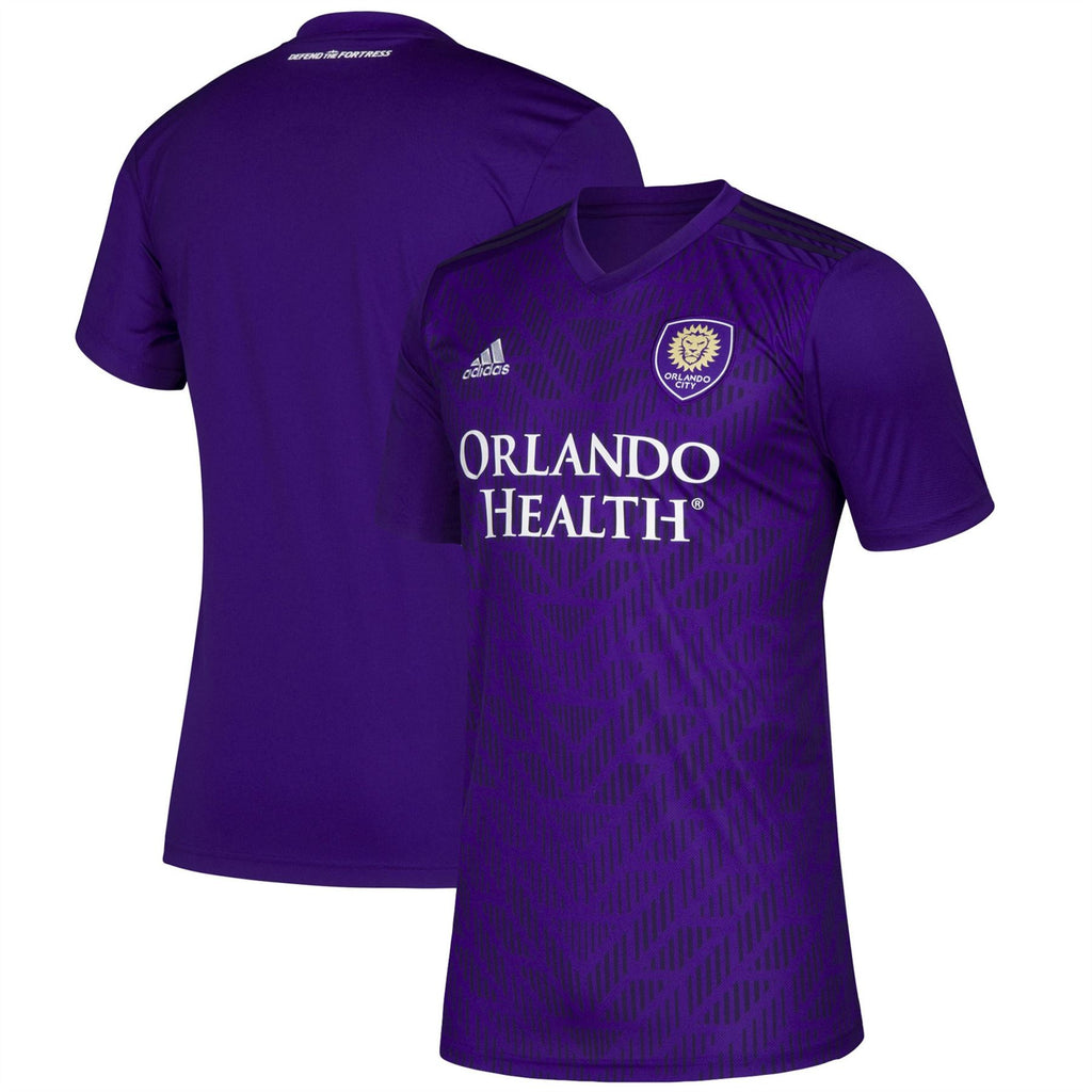 Adidas MLS Youth Orlando City 2019 Bring The Noise Replica Team Jersey Purple