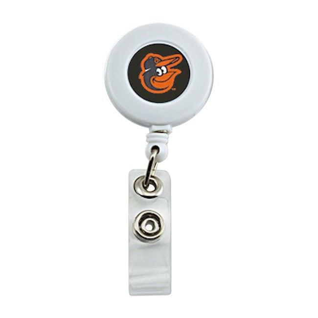 Aminco MLB Baltimore Orioles ID Badge Reel Holder