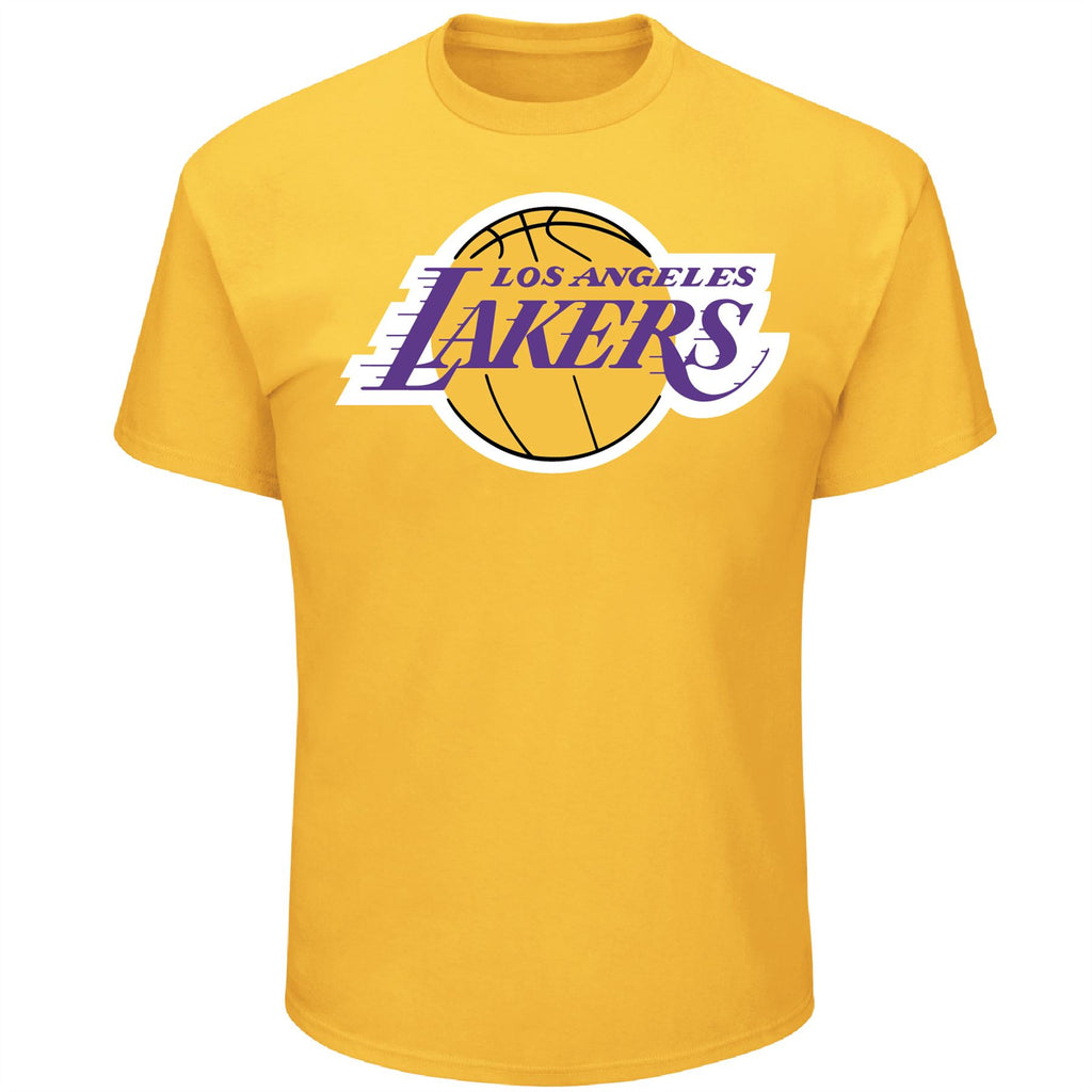 Majestic NBA Men's Los Angeles Lakers Primary Logo T-Shirt