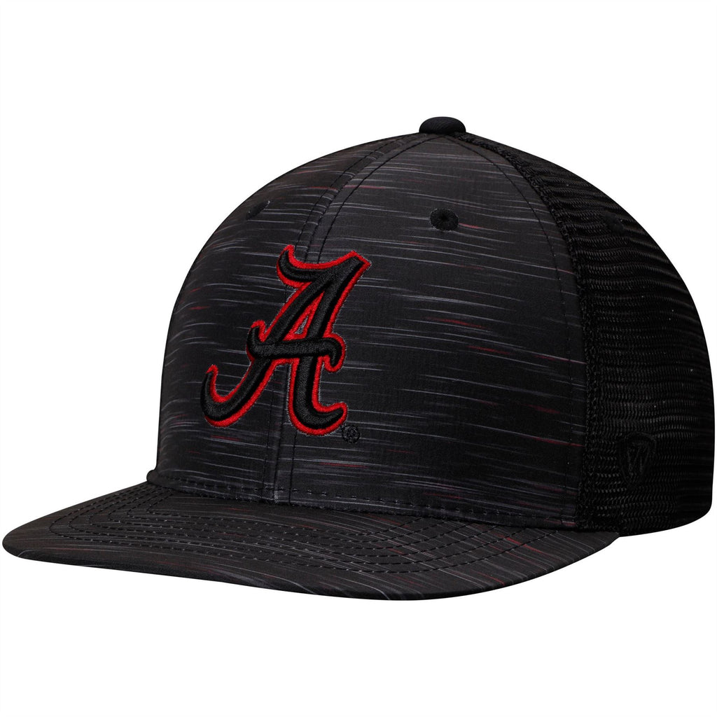 new products 80721 71fed Top Of The World NCAA Men s Alabama Crimson Tide Frantic Adjustable Hat  Black One Size