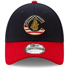 New Era MLB Men's Chicago Cubs 2019 Stars & Stripes 4th of July 9FORTY Adjustable Hat Navy/Red
