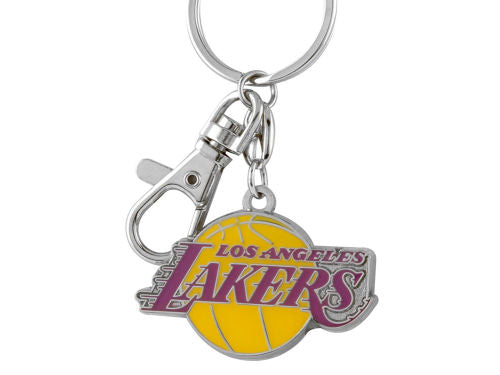 Aminco NBA Los Angeles Lakers Team Logo Heavyweight Keychain