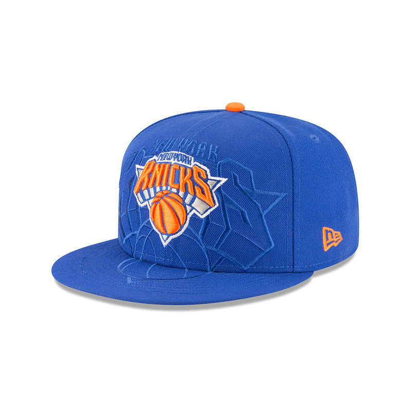 promo code 0a367 44864 New Era NBA Men s New York Knicks Logo Spill 59FIFTY Adjustable Snapba –  Sportzzone