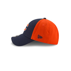 New Era Men's NFL Chicago Bears NE Blocked Team 9FORTY Adjustable Hat Navy/Orange OSFA