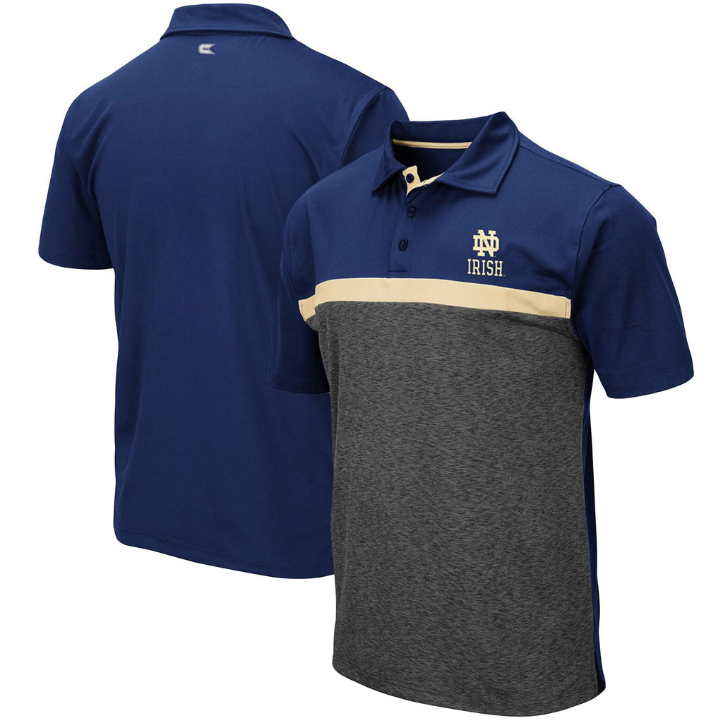 Colosseum NCAA Men's Notre Dame Fighting Irish Capital City Polo