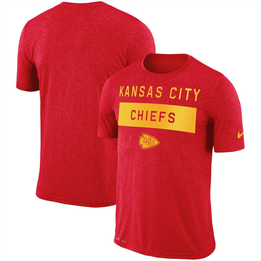 Nike NFL Men's Kansas City Chiefs Sideline Legend Lift Performance T-Shirt