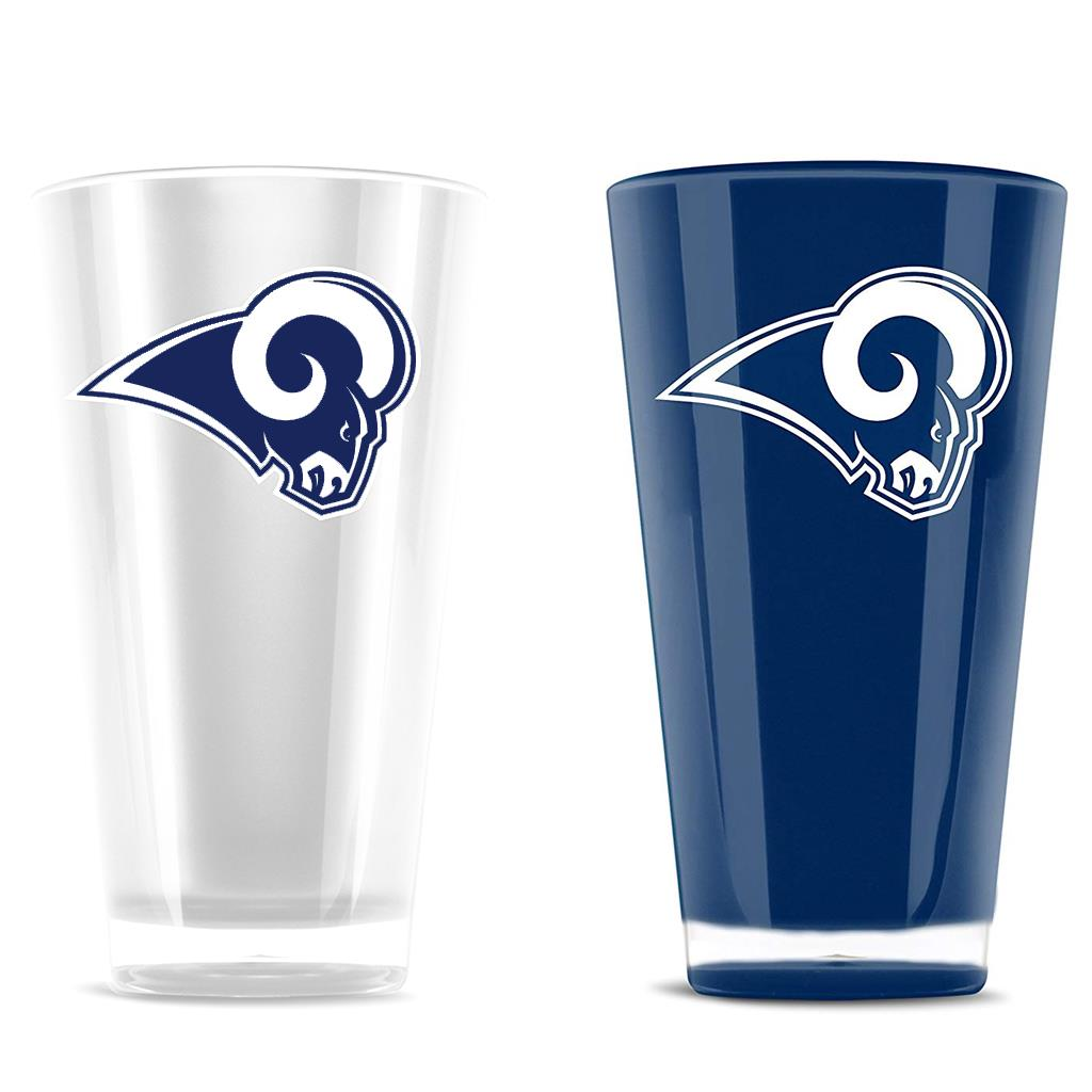 Duck House NFL Los Angeles Rams Insulated Tumbler Cup 2 Piece Set 20 oz