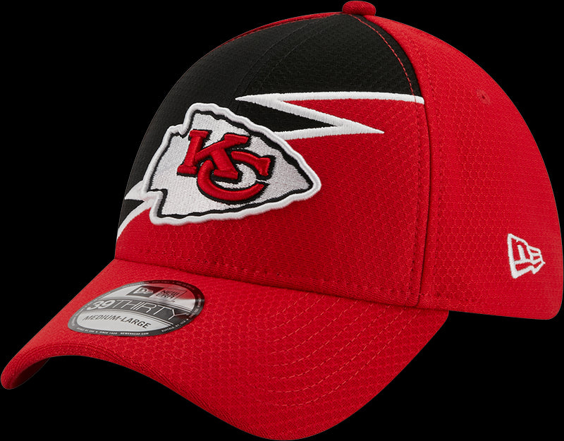 New Era NFL Men's Kansas City Chiefs BOLT 39THIRTY