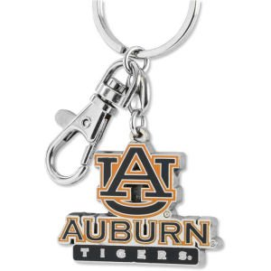 Aminco NCAA Auburn Tigers Heavyweight Keychain