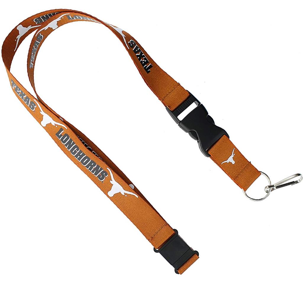 Aminco NCAA Texas Longhorns Breakaway Lanyard