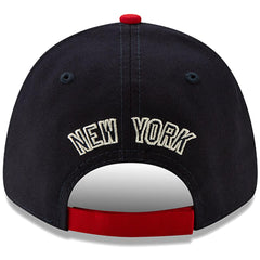 New Era MLB Men's New York Yankees 2019 Stars & Stripes 4th of July 9FORTY Adjustable Hat Navy/Red