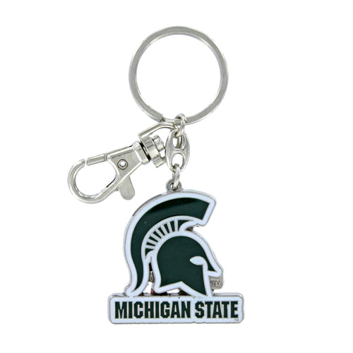 Aminco NCAA Michigan State Spartans Heavyweight Keychain
