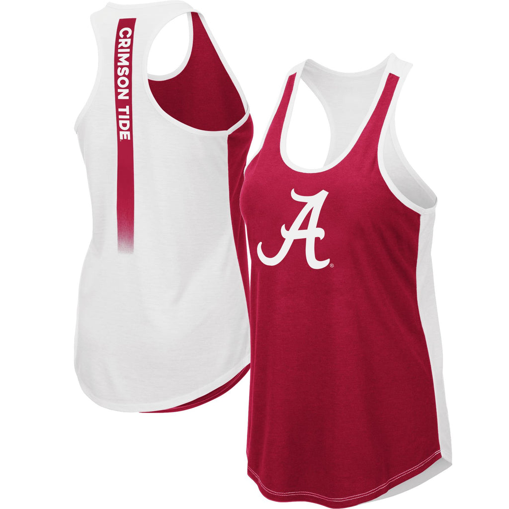 Colosseum NCAA Women's Alabama Crimson Tide Publicist Tank Top