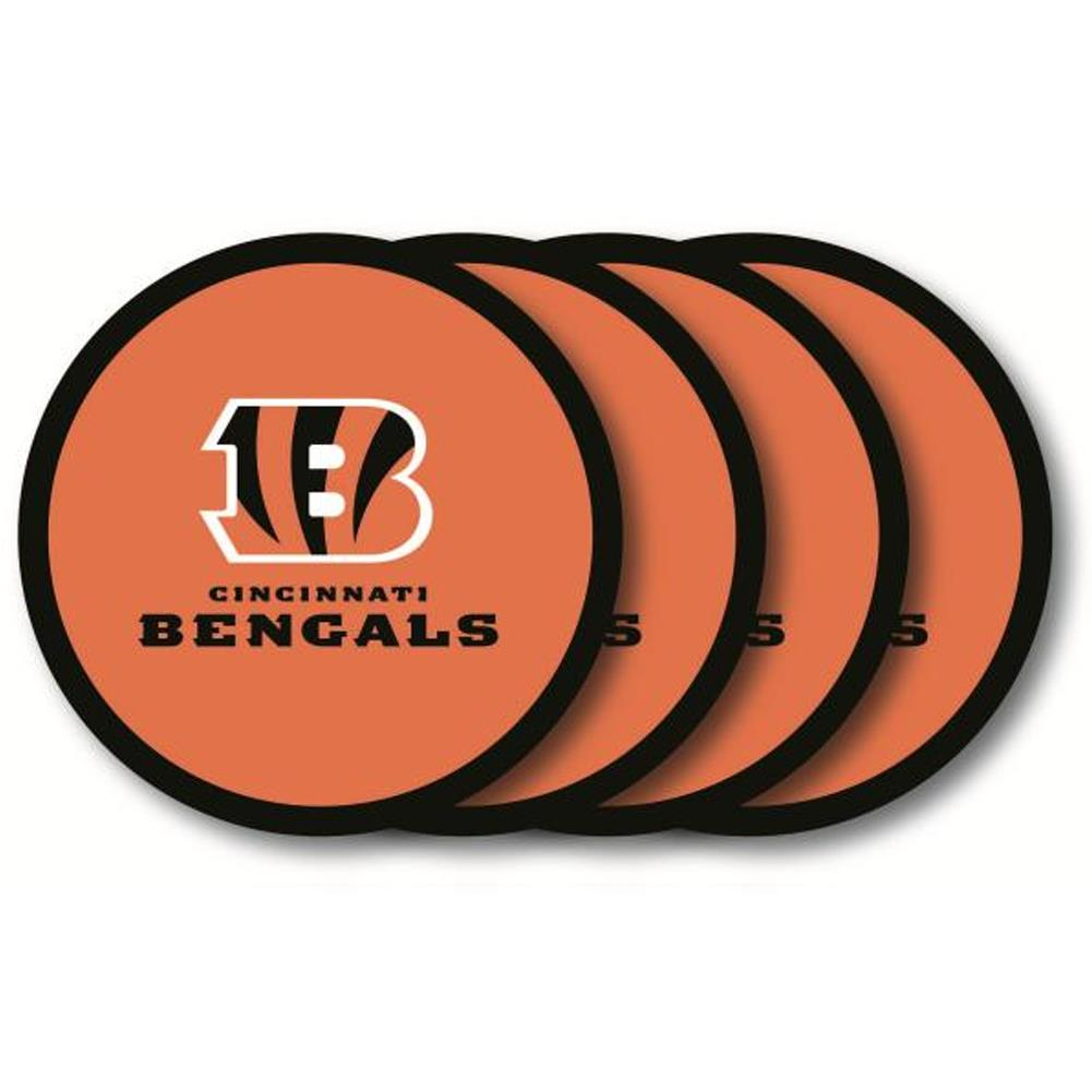 Duck House NFL Cincinnati Bengals Coaster Set 4-Pack