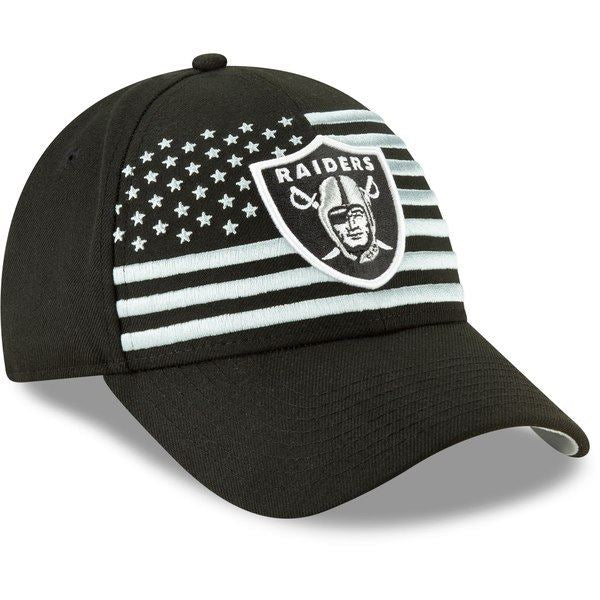 b814b59785e6ee ... New Era NFL Men's Oakland Raiders 2019 NFL Draft On Stage Official  9FORTY Adjustable Hat Black ...