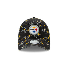 New Era NFL Women's Pittsburgh Steelers Blossom Adjustable 9Twenty Hat